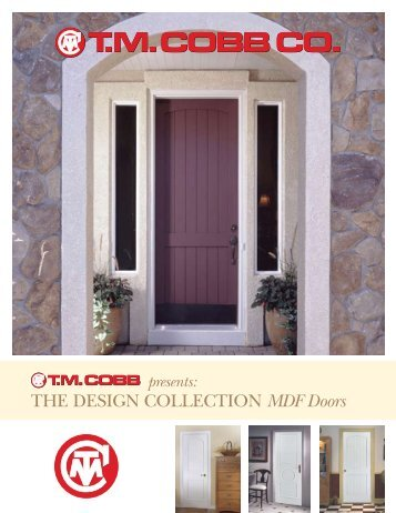 The Design ColleCTion MDF Doors - T.M. Cobb : tmcobb doors - pezcame.com