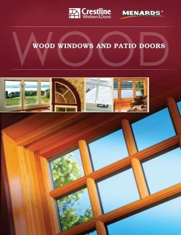 wood windows and patio doors - Crestline Windows + Doors