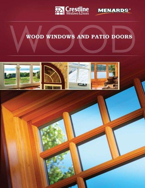 Wood Windows And Patio Doors Crestline Windows Doors