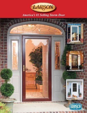 America's #1 Selling Storm Door - Brosco