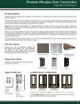 Impact Entry Doors Premium Fiberglass - GlassCraft Door - Page 5