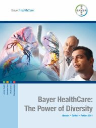 Bayer HealthCare: The Power of Diversity - Bayer - Standort Monheim