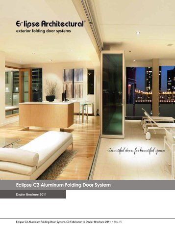 Bi-Folding Doors - Alliance Window Company