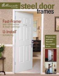 Fast-Frame and U-Install Catalog - Masonite