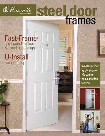 Fast-Frame and U-Install Catalog - Masonite
