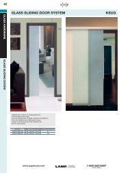 GLASS SLIDING DOOR SYSTEM KSUG
