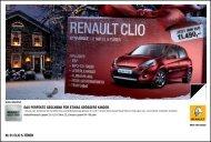 Nr. 01 CLIO 5-TÜRER DAS PERFEKTE ... - bei Renault Liesing!