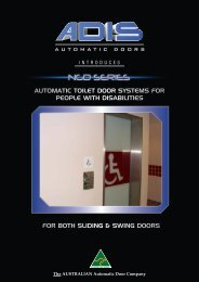 for both sliding & swing doors automatic toilet door systems for ...