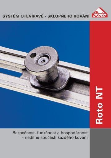 Charakteristika kování Roto NT