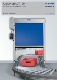 Rapid Protect TM 100 - Albany Door Systems