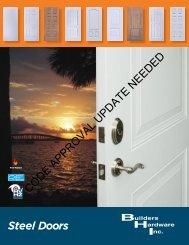 Steel Doors CODE APPROVAL UPDATE NEEDED - Builders ...
