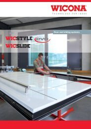 Download door and sliding systems - Wicona Bausysteme GmbH