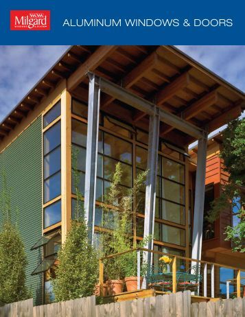 Aluminum Windows and Doors Brochure - eBuild