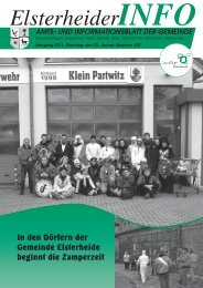 Januar - Gemeinde Elsterheide
