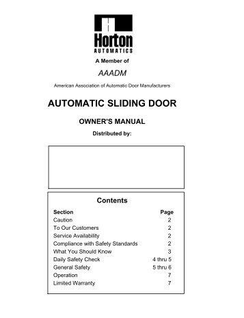 automatic sliding door owners manual horton automatics?quality\\\=85 horton door operator wiring diagrams 36 wiring diagram images