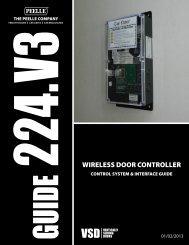 224.V3 WIRELESS DOOR CONTROLLER - Peelle Company