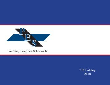 714 Catalog 2010 - Processing Equipment Solutions
