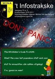 28 september, S9 - WiNA - Universiteit Gent