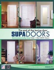 Interior Door Catalogue Volume 11 - Supa Doors