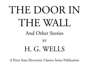 The Door in the Wall - Pennsylvania State University