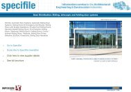 Sliding, Telescopic and Folding Door Systems - Specifile on-line