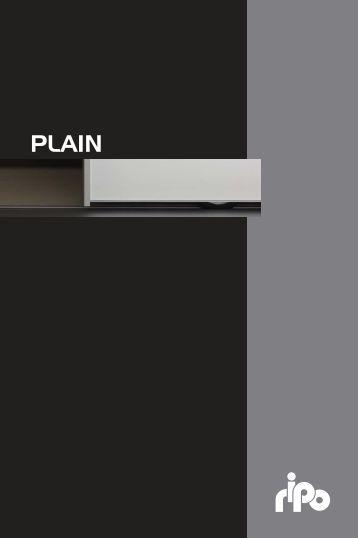 Plain profile doors - Ripo Fabrika