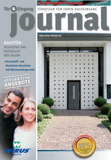 Haustüren Journal von Wirus mit Füllung von DPI - Haustüren-Shop ...