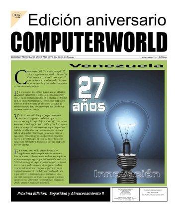 Próxima Edición: Seguridad y Almacenamiento II - Computerworld ...