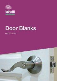 Door Blanks Door Blanks - Latham