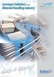 System Plast Material Handling Conveyor Solutions Brochure - Form