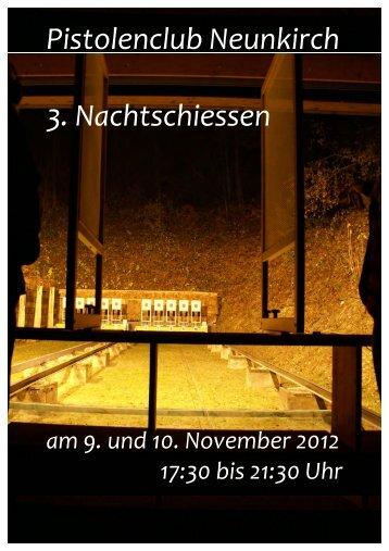 Nachtschiessen 25 m 2012 im Schiessstand ... - Schaffhausen