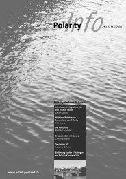 zum Magazin - Polarity Verband Schweiz