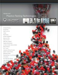 Plastics Testing Technologies - QUALITEST – WorldofTest.com