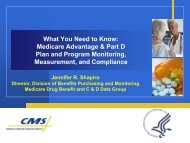 What You Need to Know: Medicare Advantage & Part D Plan and ...