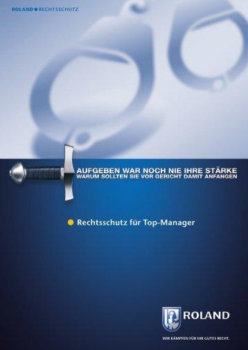 Rechtsschutz für Top-Manager - Roland Rechtsschutz