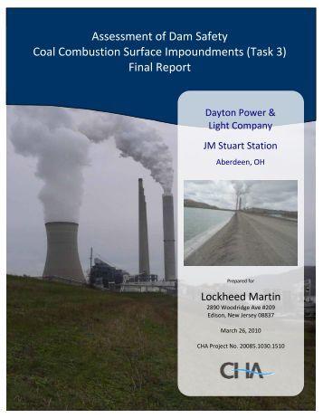 DPL, JM Stuart, Aberdeen, OH Final Report - US Environmental ...