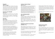 Fairs and Festivals - overview 2013  - Eltville