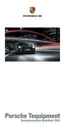Mehr über das neue Kartenupdate von Porsche Tequipment