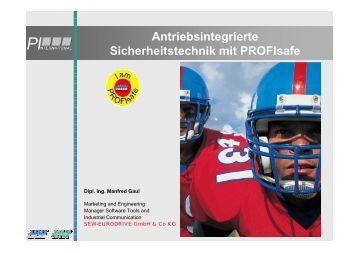 Antriebsintegrierte Sicherheitstechnik mit PROFIsafe - Profibus ...