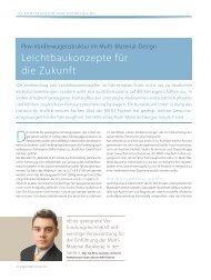 Leichtbaukonzepte für die Zukunft (.pdf) - ika