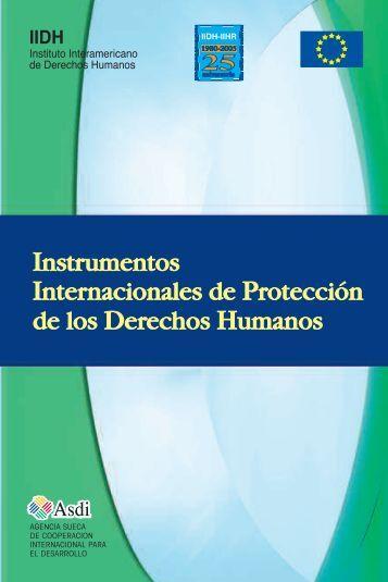 Anexos - Instituto Interamericano De Derechos Humanos
