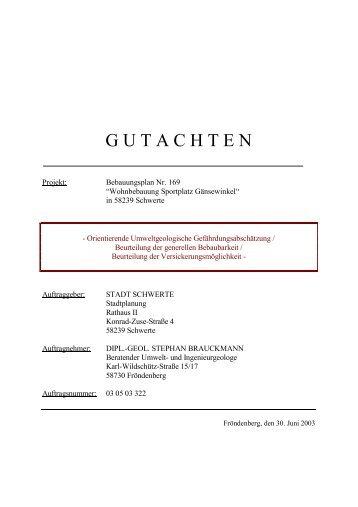 Dipl.-Geologe Stephan Brauckmann
