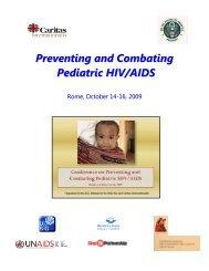 Preventing and Combating Pediatric HIV/AIDS - Caritas Internationalis