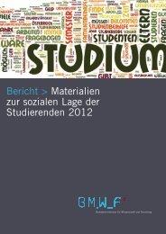Studierenden sozialerhebung 2011 materialien
