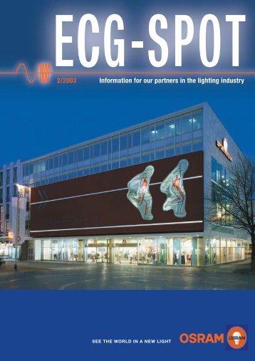 ECG-SPOT 2/2003 - Osram