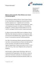 Neues Vorstandsmitglied (pdf | 0,03 MB) - Mainova AG