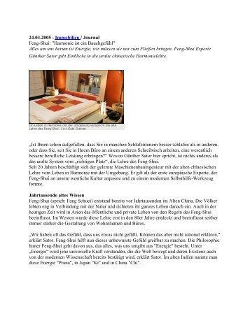 Artikel als .pdf - Günther Sator