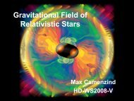 Gravitational Field of Relativistic Stars