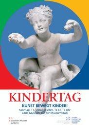 Kindertag im Bode-Museum - Kaiser Friedrich-Museums-Verein