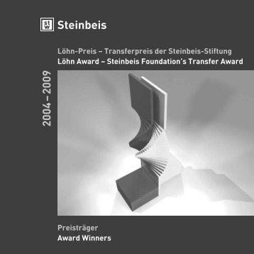 Löhn-Preis – Transferpreis der Steinbeis-Stiftung Löhn Award ...